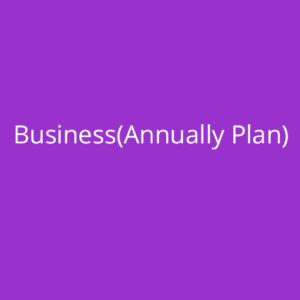 Business (Annual Plan)
