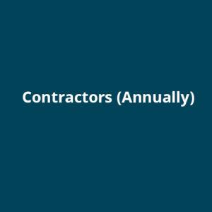 Contractors (Annually)