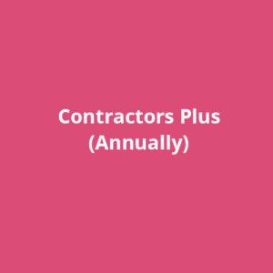 Contractors Plus (Annually)